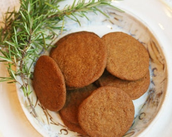 Rosemary Cookies (ONE DOZEN)