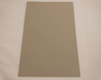Foam rubber sheet: taupe