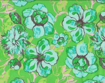 1 yd. olivia's holiday, romance, green