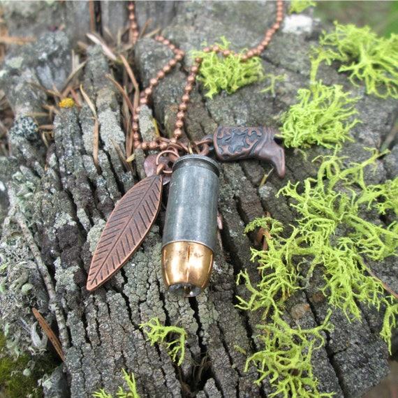 40 Caliber Bullet Necklace