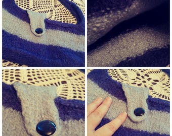 Repurposed and Felted Sweater Purse