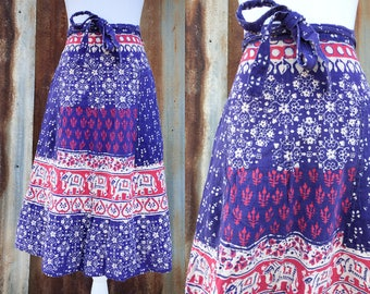 Indian Adjustable Wrap Skirt