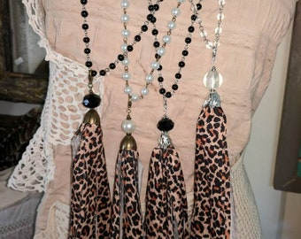 Handmade Tassel necklace