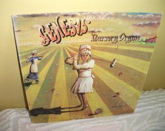 Genesis Nursery Cryme Vinyl Record Album NEAR MINT condition