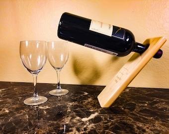 Puerto Rico Strong Balancing Wine Bottle Holder