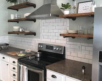 Open Kitchen Shelves,Bathroom Storage Shelves, Listing For 1 Shelf