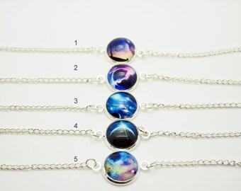 Universe cabochon bracelet