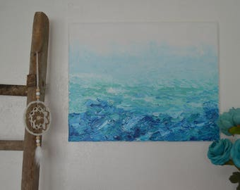 Seascape • Abstract Acrylic Painting