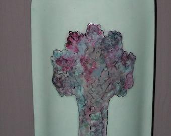 Porcelain turquoise tree