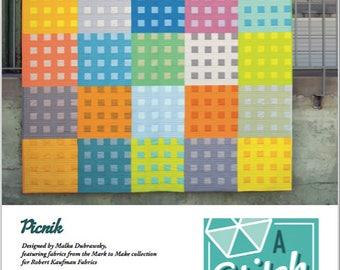 Picnik Modern Quilt PDF Pattern
