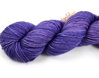 Aster--hand dyed Sport weight yarn merino/nylon (328yds/100gr)