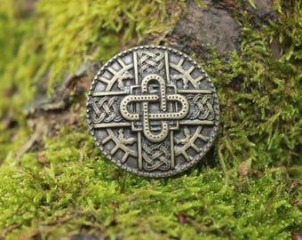 Bow merovingien bronze finish, decorative rivet