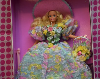 Spring Bouquet Barbie, Enchanted Seasons Collection, Limited Edition