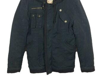 Off 10%!! Vintage Pimpson's Oulette Dublin Sanforized Military Style Parka Jacket
