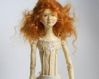 OOAK art doll Elizabeth (until July 31 - 20%Coupon Code MUSEJULY2014)
