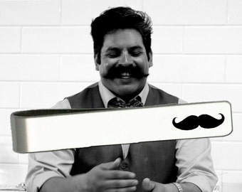Mustache | Mustache Gift | Mustache Gifts | Mustache Tie Bar | Fathers Day Gifts | Gifts for Dad | Korena Loves