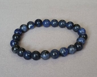 8MM Sodalite Bracelet