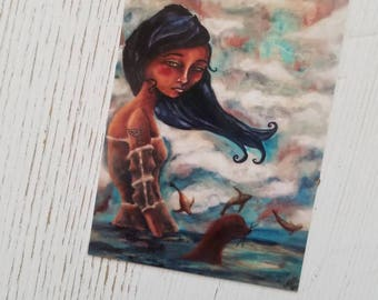 Selkie Discontinued ACEO PRINT