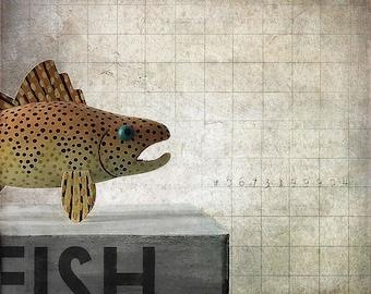 FISH - fine art digital print