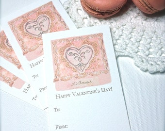 Valentine Gift Tags Download