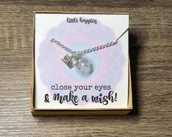Make A Wish! - Dandelion Necklace