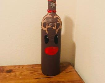 Reindeer bottle