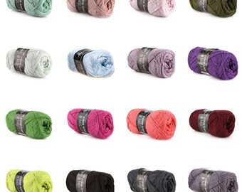 MAYFLOWER Cotton 8/4 - Choose a color
