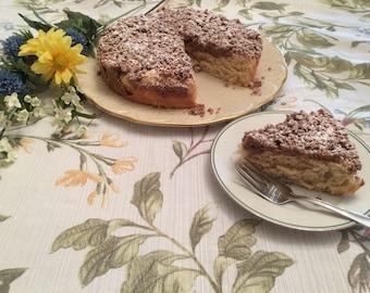 Famous Crumbcake, Cinnamon Coffecake, Sweet Bread, Breakfast Cake, Streusel Cake, Cinnamon Streusel, Cinnamon Cake, Hostess Gift, Get Well S