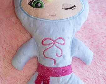 Girl Ninja doll Custom made