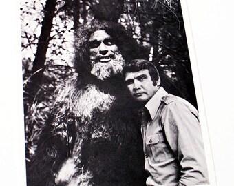 Vintage Six Million Dollar Man The Secret of Bigfoot Lee Majors Photo Publicity Promo Studio Copy