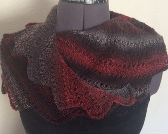 Handknitted scarf / stole/ wrap