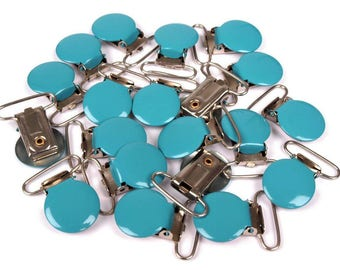 Clip Turquoise Blue