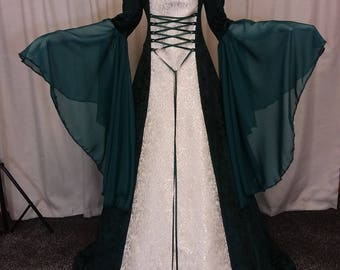 Custom made dress and petticoat