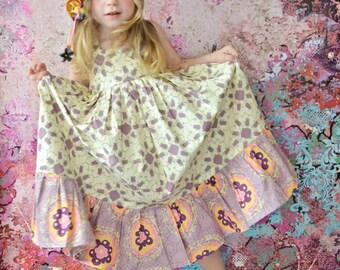 Wild Lilac Sweetheart Boho Maxi Dress