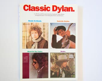 Classic Dylan music book