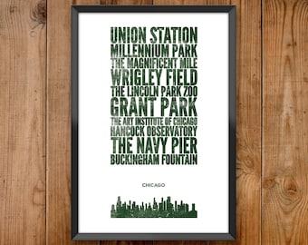 Chicago City Print