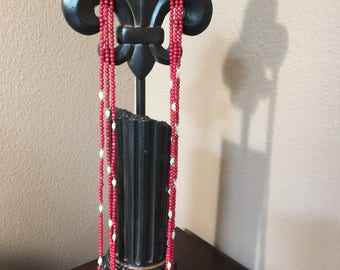 Bamboo Coral Multi strand Necklace