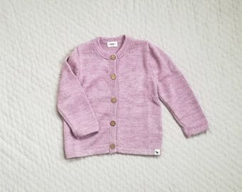 Baby girl cardigan kids alpaca boy sweater girl sweater knitted wool sweater for kids knit pink cardigan girl sweater baby girl knit sweater