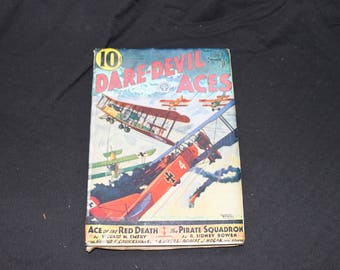 Daredevil Aces May 1933 Graphic Novel / Comic Book / Hero Pulp / Magazine