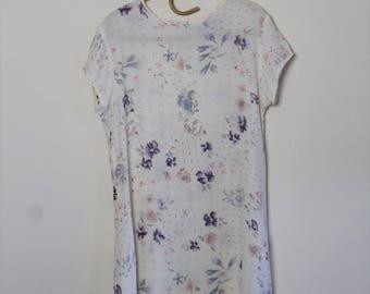 90's rayon dress // medium large