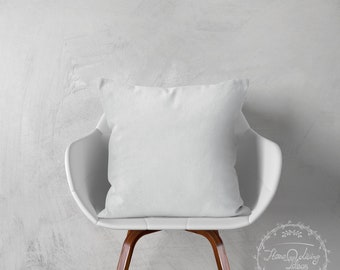 solid white pillow cover white throw pillow cover white cotton cushion cover pillow case decorative pillow cover accent pillow ANY SIZES