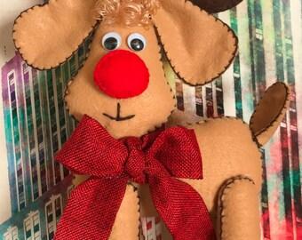 Christmas Felt Reindeer