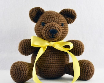Crocheted Bear - Teddy