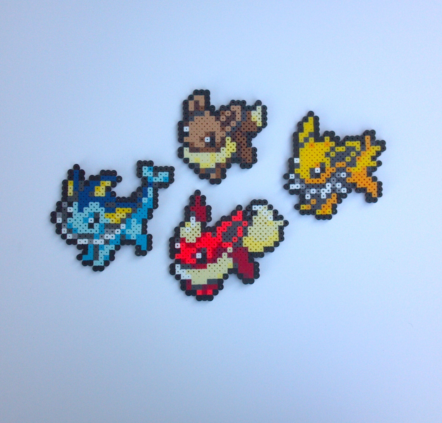 Pokemon perler bead sprites eeveelutions eevee jolteon zoom kristyandbryce Gallery