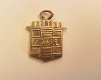 Nash keychain keytag key chain vintage