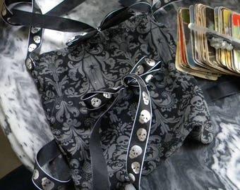 Skull & Coffin Tarot Bag