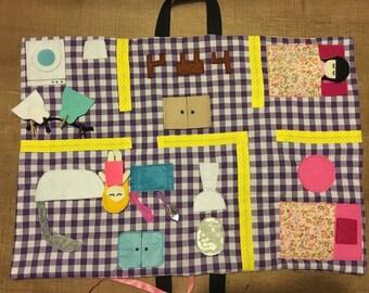 Playmat to carry liberty print