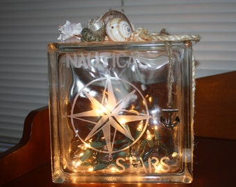 Compass Rose Night Light