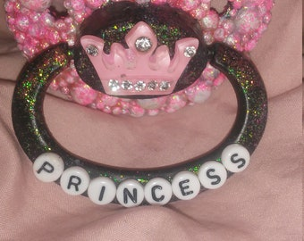 Princess fully deco adult pacifier