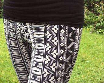 Harem pants, belly dance pants, yoga pants, skinny harem pants, harem pants with slits, circus pants, dance pants, women's pants,